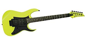 Ibanez RG2XXV Fluorescent Yellow 25th Anniversary 6-string Electric Guitar