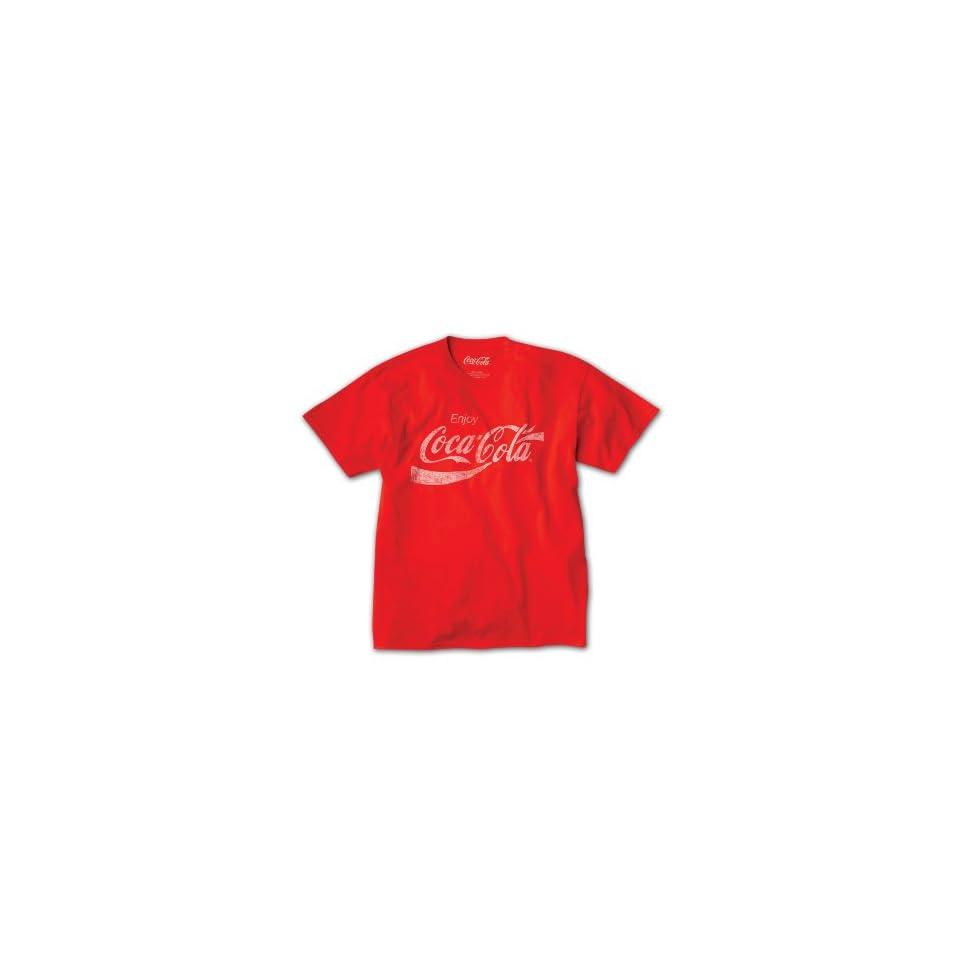 Enjoy Coca Cola Big & Tall Short Sleeve Graphic T Shirt