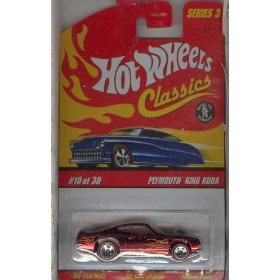 Hot Wheels 2006 Classics Series 3 10 of 30 RED PLYMOUTH KING KUDA 1:64 Scale Die-cast Body/chassis Special Paint - 1