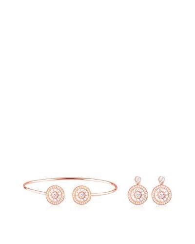 Ingenious Jewellery Set Armband und Ohrringe Sterling-Silber 925