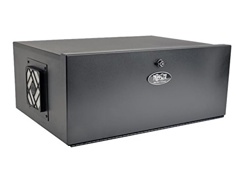 TRIPP LITE 5U Security DVR Lockbox Rack Enclosure 60lb Capacity, Black (SRDVRLB) (Computer Fan Box compare prices)