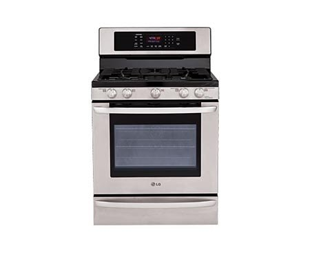 LG-LRG3095ST30-Stainless-Steel-Gas-Sealed-Burner-Range-Convection