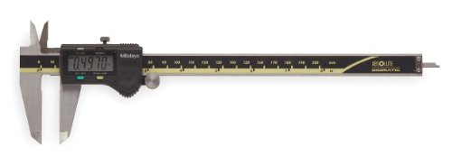 Mitutoyo 500-197-30 Advanced Onsite Sensor Absolute Scale Digital Caliper, 0-8