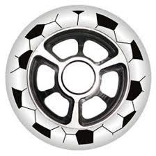 Yak FA Spoke Metal Core Scooter Wheel 100mm NEW ITEM IN WHITE