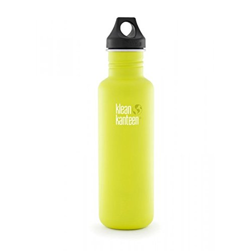 klean-kanteen-classic-single-wall-bottle-with-loop-cap-2016-800ml-27oz-lime-pop-matte-finish