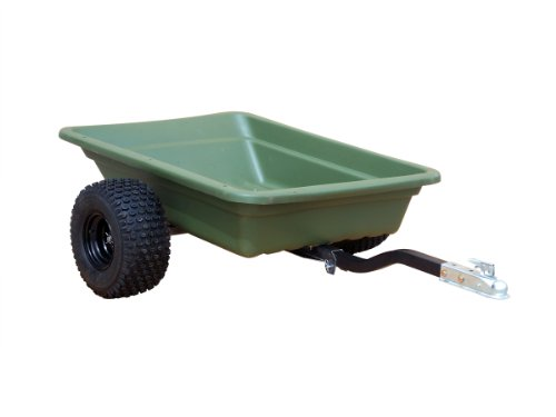 Swisher 12008A 20-Cubic Foot Multi-Purpose 1,000-Pound Capacity Poly Dump Trailer image
