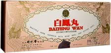 Bai Feng Wan Herbal Supplement (10 containers, 50 pills each - 50g total) - 12 boxes