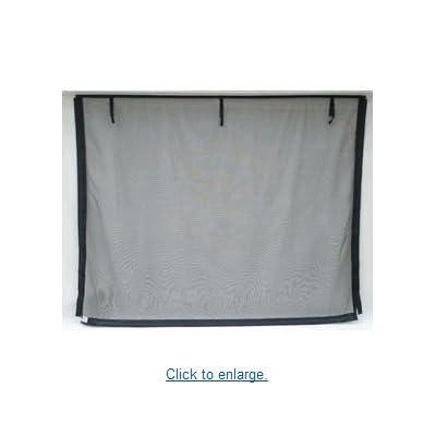 Fresh air screens garage door screen 16 ft x 7 ft garage for 18 x 8 garage door screen