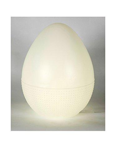 Artkalia Eggy XL Moderna Wireless LED Floor Lamp, White Opaque