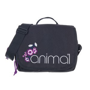 Animal Womens Crest Cross-Body Bag Dark Wash