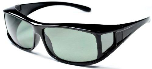 b44c9909b3 prescription sunglasses  Hilton Bay Polarized Fitsover Sunglasses P77