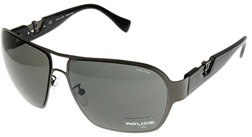 Police Sunglasses Hero 3 Black Unisex S8753M 0568 Aviator