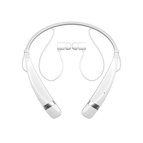 LG Tone Pro HBS-760 Wireless Bluetooth Headphones White (Certified Refurbished)