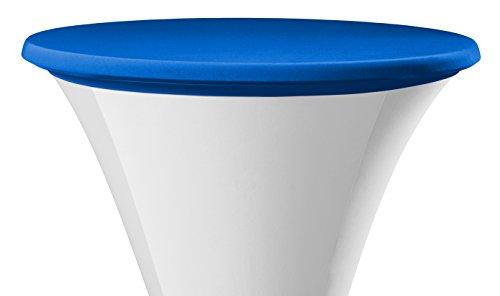 Dena-022890-Tischplatten-Bezge-Samba-Durchmesser-80-85-cm-blau