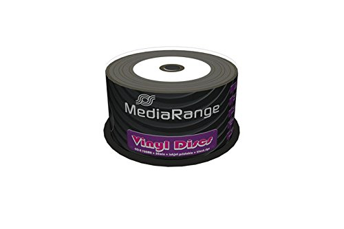 mediarange-mr226-cd-r-imprimible-con-aspecto-de-disco-de-vinilo-pack-de-50-unidades