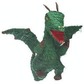 Dragon Pinata Green 1 pc