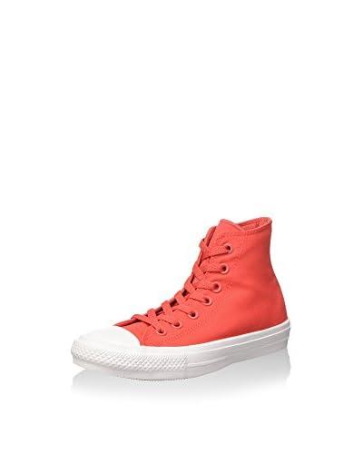 Converse Hightop Sneaker Ct As Ii Hi Neon Poly rot/weiß