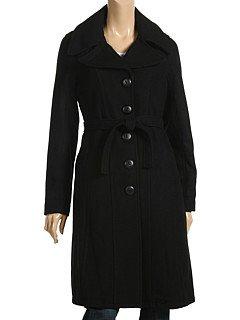 Spiewak Womens Chamber Square Weave Coat (Medium, Black)
