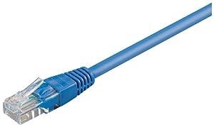 Goobay CAT6 UTP Netzwerkkabel (2x RJ45, 20m) blau
