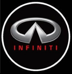 Infiniti Ghost Door Logo Projector Shadow Puddle Laser Led Lights 7W (Qty 2) N