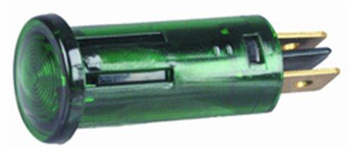 Hella H22985001 E101 Series 7 Watt 12-24 V Light Duty Green Warning Lamp