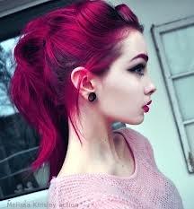 Berina Permanent Hair dye color cream # A24 Magenta