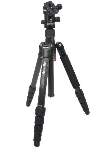 Benro Travel Angel 2 Five Section Carbon Twist Lock Tripod with B1 Head