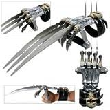 PK-6315 Skull & Bones pokqm1n6kx Gauntlet Style Hand Claws fix knife steel sharp g5d719w7nu0 edge blade pocket