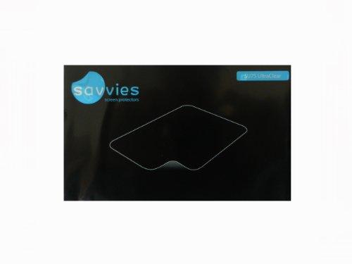 6x Savvies SU75 UltraClear DISPLAYSCHUTZFOLIE passend zu Prestigio MultiPad 8.0 Pro Duo PMP 5580C_Duo (kristall klar, sehr einfache Montage, passgenau und konturgenau, rückstandsfrei entfernbar)
