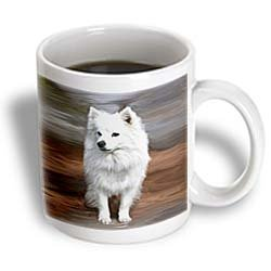 American Eskimo Toy Dog - 11oz Mug