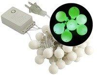 Sewell Led Christmas Lights, Bulb Style (50 Leds, 5 Meters), Green