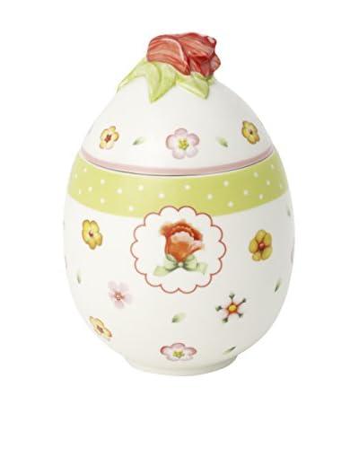 Villeroy & Boch Spring Decor Red Tulip Egg Box, Multi