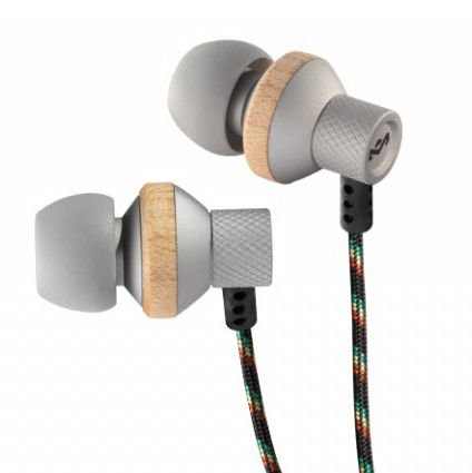 Brand New House Of Marley Em-Fe010-Sm Conqueror In-Ear Headphones - Mist 5 Size Tips