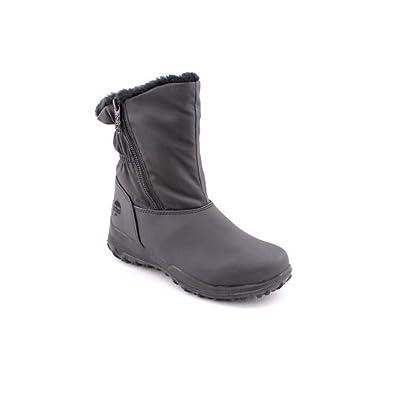 Totes Rikki Womens Size 6 Black Snow Boots