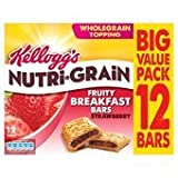 Kellogg's Nutri Grain Strawberry Morning Bars 12 X 37G