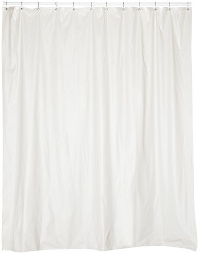 Carnation Home Fashions 72 Inch Wide By 84 Inch Long Vinyl Shower Curtain Liner Ebay