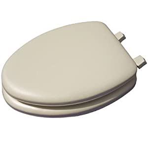 Mayfair 113 000 Deluxe Soft Elongated Toilet Seat Oval