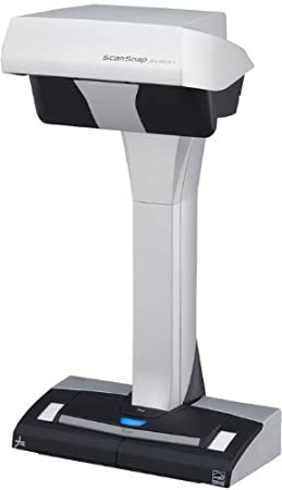 Fujitsu - Scansnap SV600 Scanner de Documents - Noir/Gris