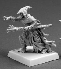 Dramorion, Dark Elf Sorcerer Warlord Miniature - 1