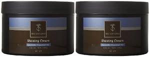 True Gentlemen Shaving Cream-Lavender-5.3 oz, 2 pk