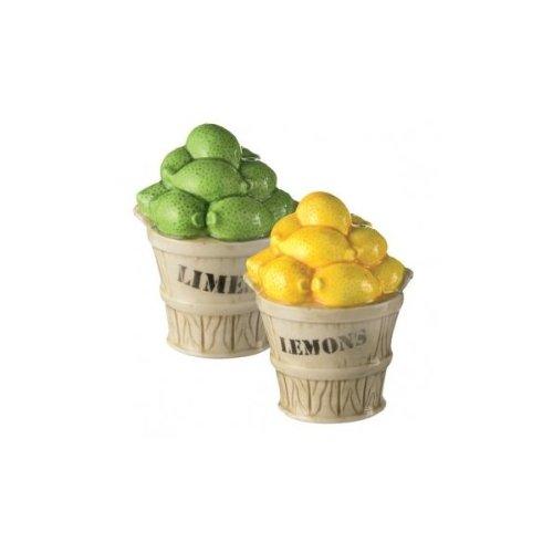 Grasslands Road Citralicious Lemon & Lime Salt & Pepper Shaker Set