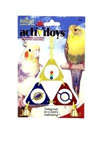 Cheap JW Pet Company 080-31033 JW Pet Company Insight Triangle Dangle Small Bird Toy Assorted Colors (080-31033)