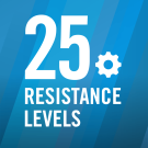 25 Resistance Levels