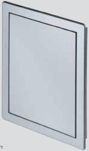 Access Panel 150x150mm (6x6inch) Satin Silver Finish High Quality ABS Plastic