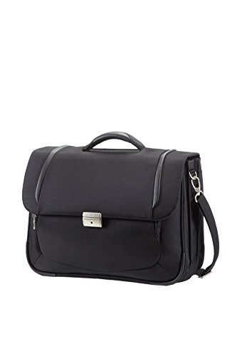 "Samsonite Cartella X'blade Business 2.0 Briefcase 3 Gussets 16"" 18 liters Nero (Black) 57812-1041"