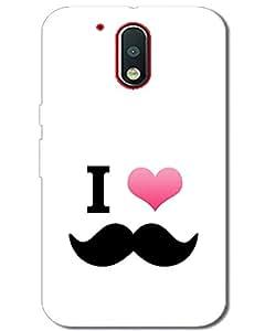 MobileGabbar Motorola Moto G4 Plus Back Cover Printed Designer Hard Case