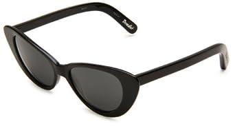 Elizabeth & James Benedict Cat Eye Sunglasses,Black Frame/Black Lens,One Size