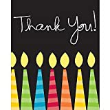 ShindigZ Great Birthday Thank You Notes 8 Pack