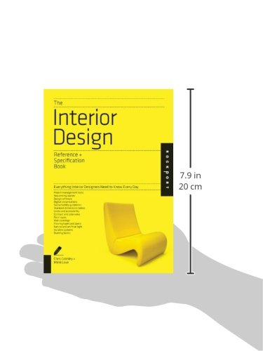 libro the interior design reference specification book