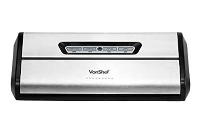 VonShef Vacuum Food Saver and Sealer System from Designer Habitat Ltd